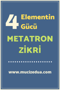 4 Elementle Metatron Gücü