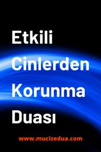Cin Musallatına Karşı Dua